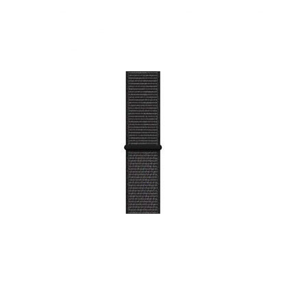 apple watch 4 40mm space gray aluminum case with black sport loop