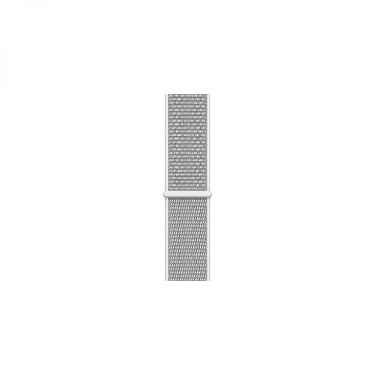 Apple Watch 4 40mm Silver Aluminum Case with Seashell Sport Loop