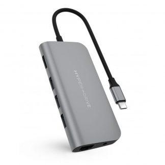 Cổng Chuyển HyperDrive Power 9-in-1 USB-C Hub (HD30F)