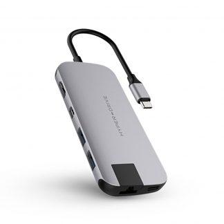 Cổng chuyển HyperDrive Slim 8-in-1 USB-C Hub (HD247B)