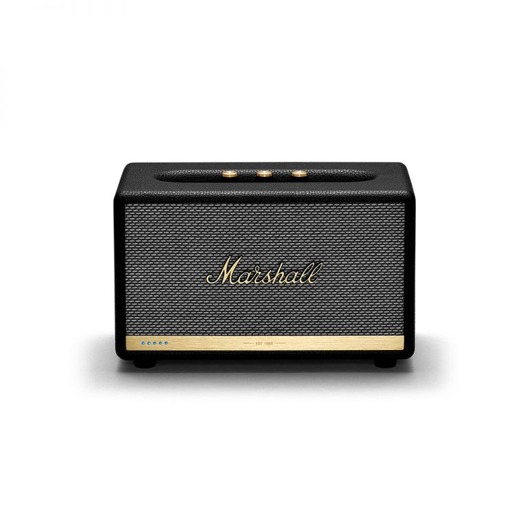 loa bluetooth marshall acton voice with google assistant