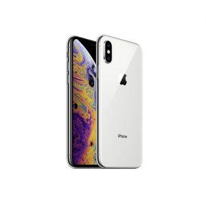 iPhone Xs, Silver, 64GB